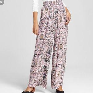 Xhilaration boho pants in pink